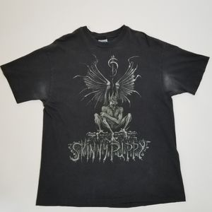 Vintage 1992 Skinny Puppy Last Rights Tour Gothic